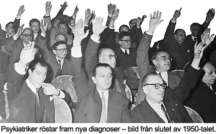 psykiatriker röstar fram diagnoser